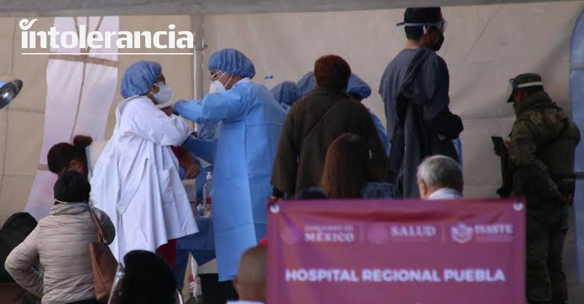 Este martes se aplicarán 2 mil 782 vacunas Covid en Puebla