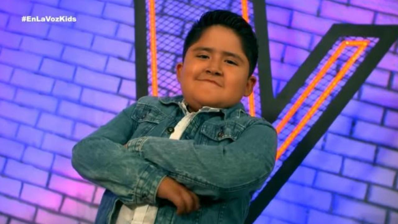 Poblano Alexis Rodríguez Morales compite en La Voz Kids