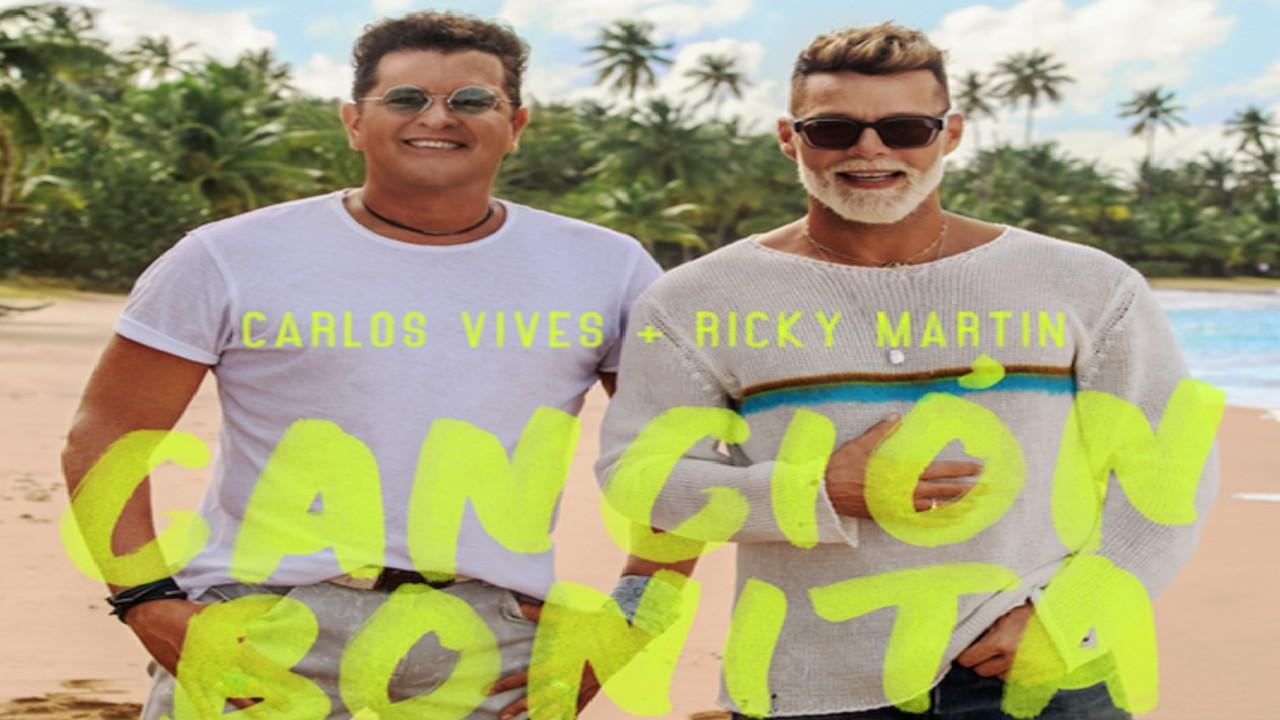 """Bombas musicales con Carlos Vives y Ricky Martin al ritmo de """"Canción bonita"""""""