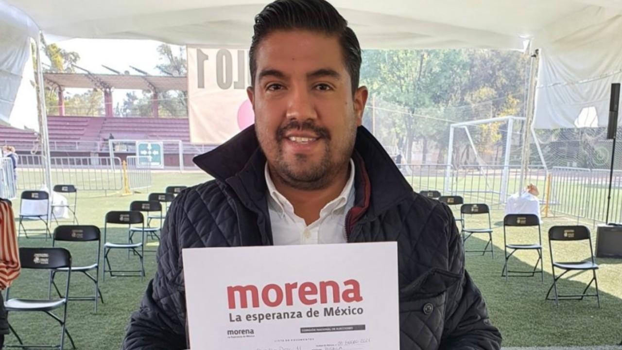 Oficial: Carlos Hernández sustituye a Saúl Huerta como candidato de Morena a diputado federal