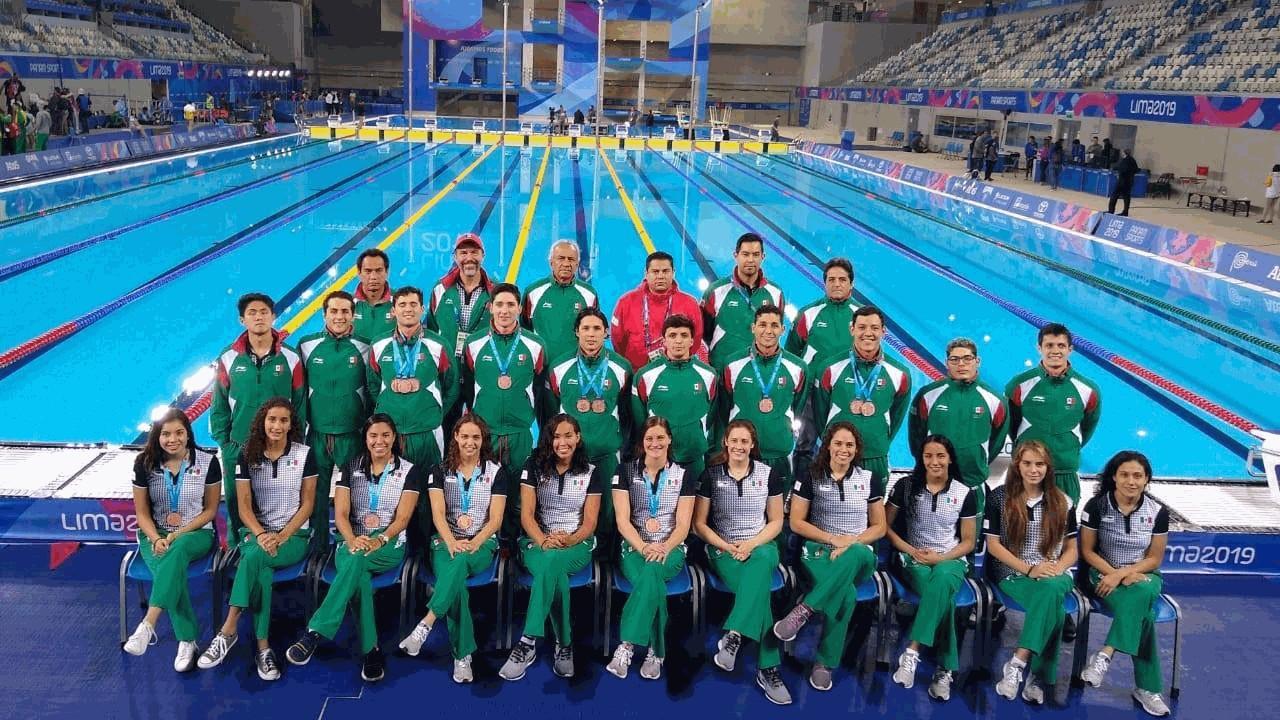Foto: Federación Mexicana de Natación