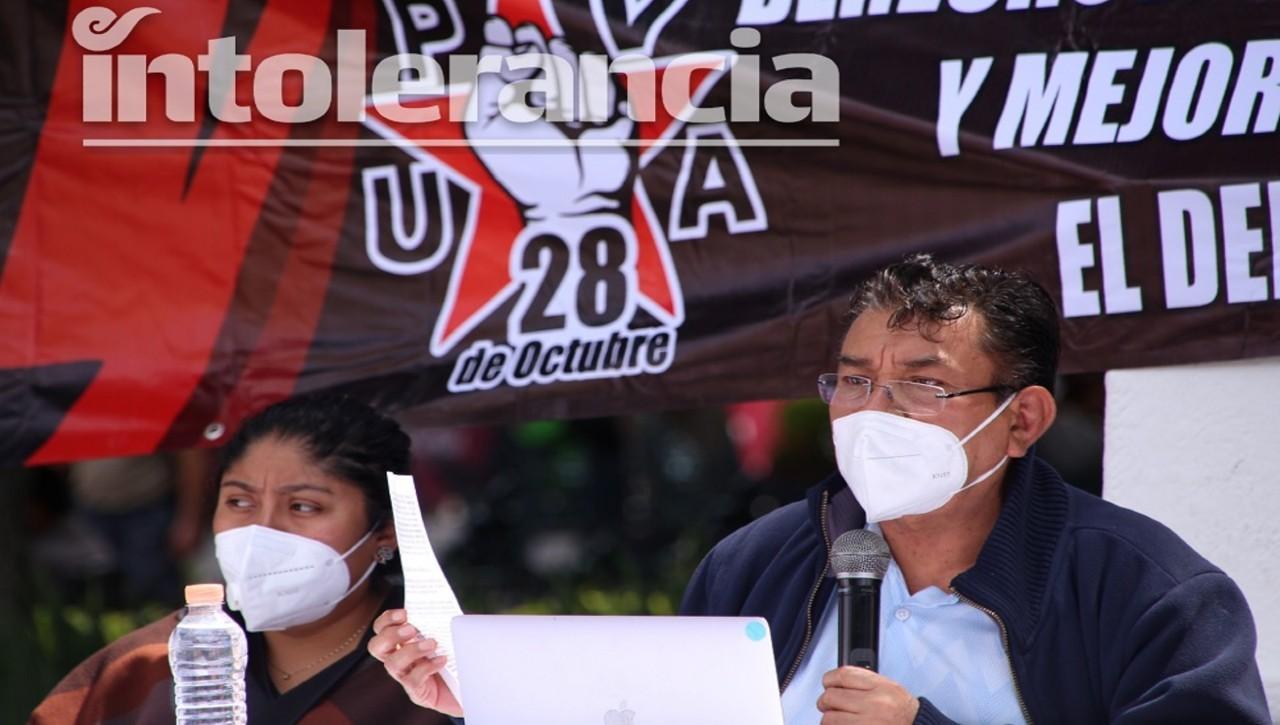 Simitrio exige justicia por Meztli; pide detener represión contra la 28 de Octubre