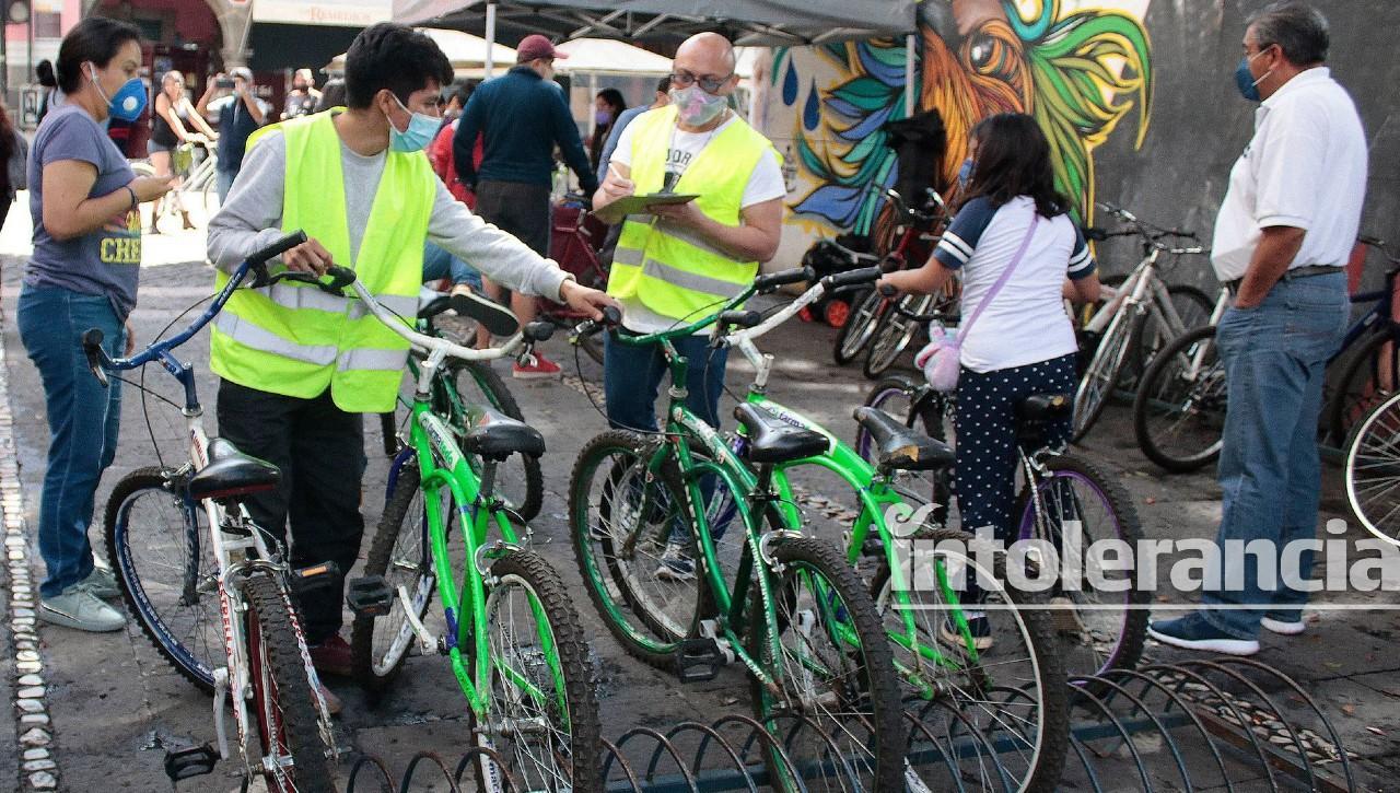 Mercados de Puebla capital tendrán estacionamientos para bicicletas