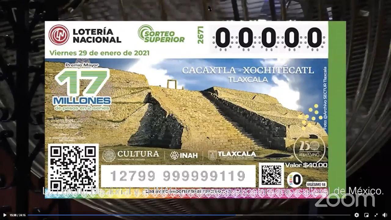 -fotografía: Lotería Nacional