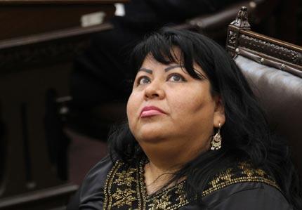 CNC-Puebla irá con quien garantice el triunfo y la unidad: Maritza Marín