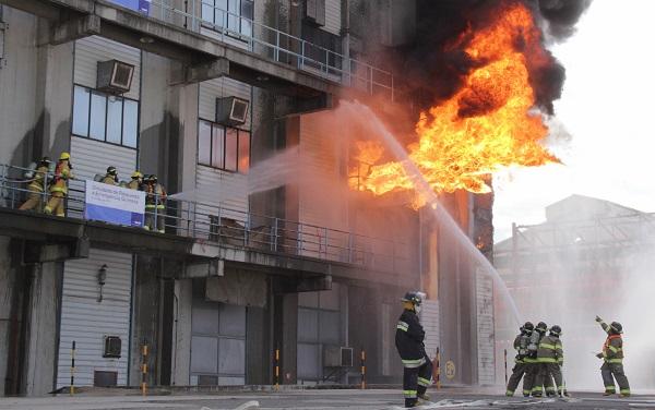 Realiza BASF Puebla simulacro de emergencia