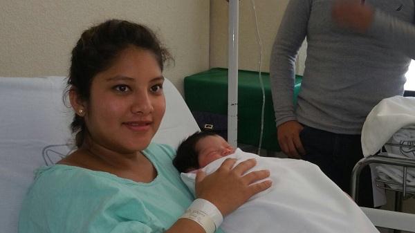 Nace en el hospital de La Margarita el primer bebé de 2018 en Puebla