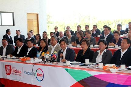 Anuncian reingeniería financiera en Cholula