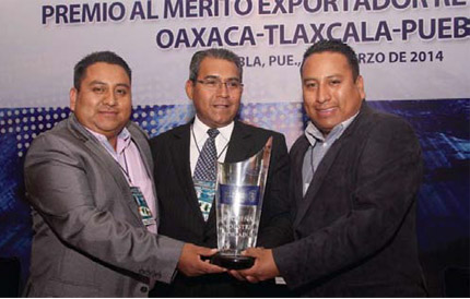 Premian a los mejores exportadores de 2013