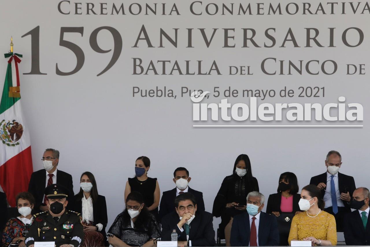 Conmemora Miguel Barbosa 159 aniversario de la Batalla de Puebla