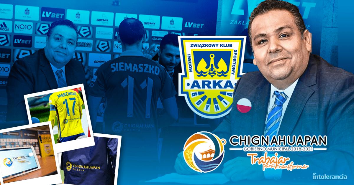 Gobierno de Chignahuapan oculta cuánto pagó para patrocinar a equipo de futbol polaco