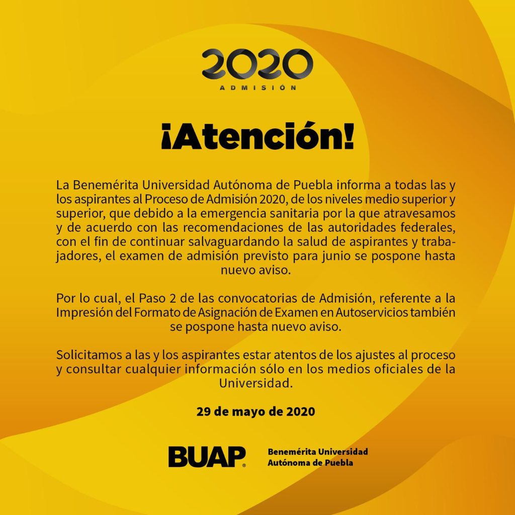 Foto: Twitter @BUAPoficial