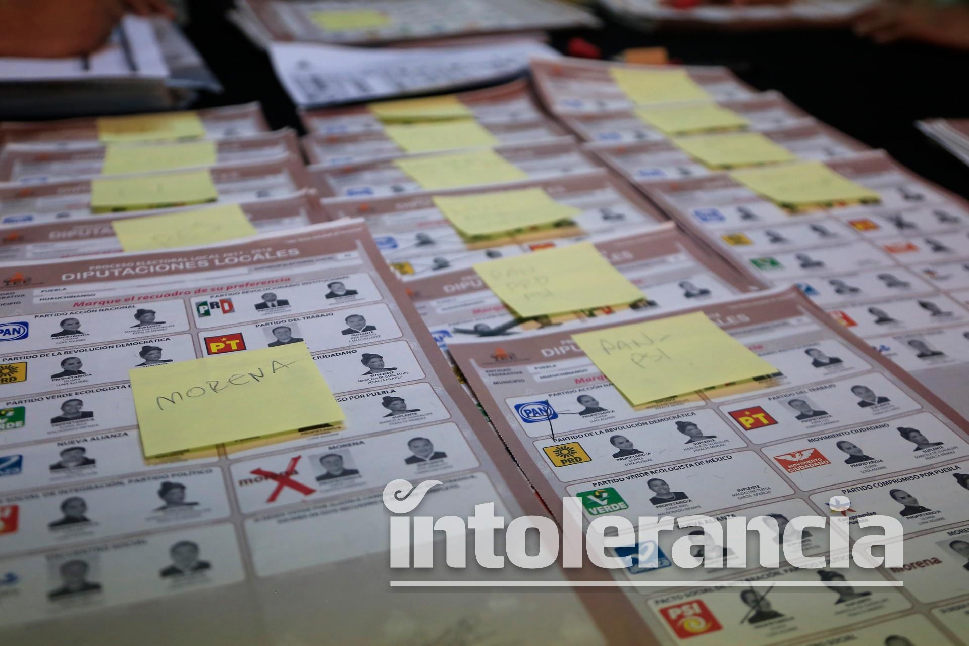Avala IEE incluir en boletas fotografías de candidatos para ayuntamientos