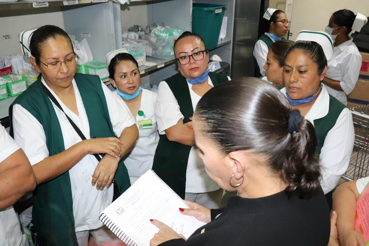 Rechaza IMSS desabasto de insumos en Hospital La Margarita para atender contingencia