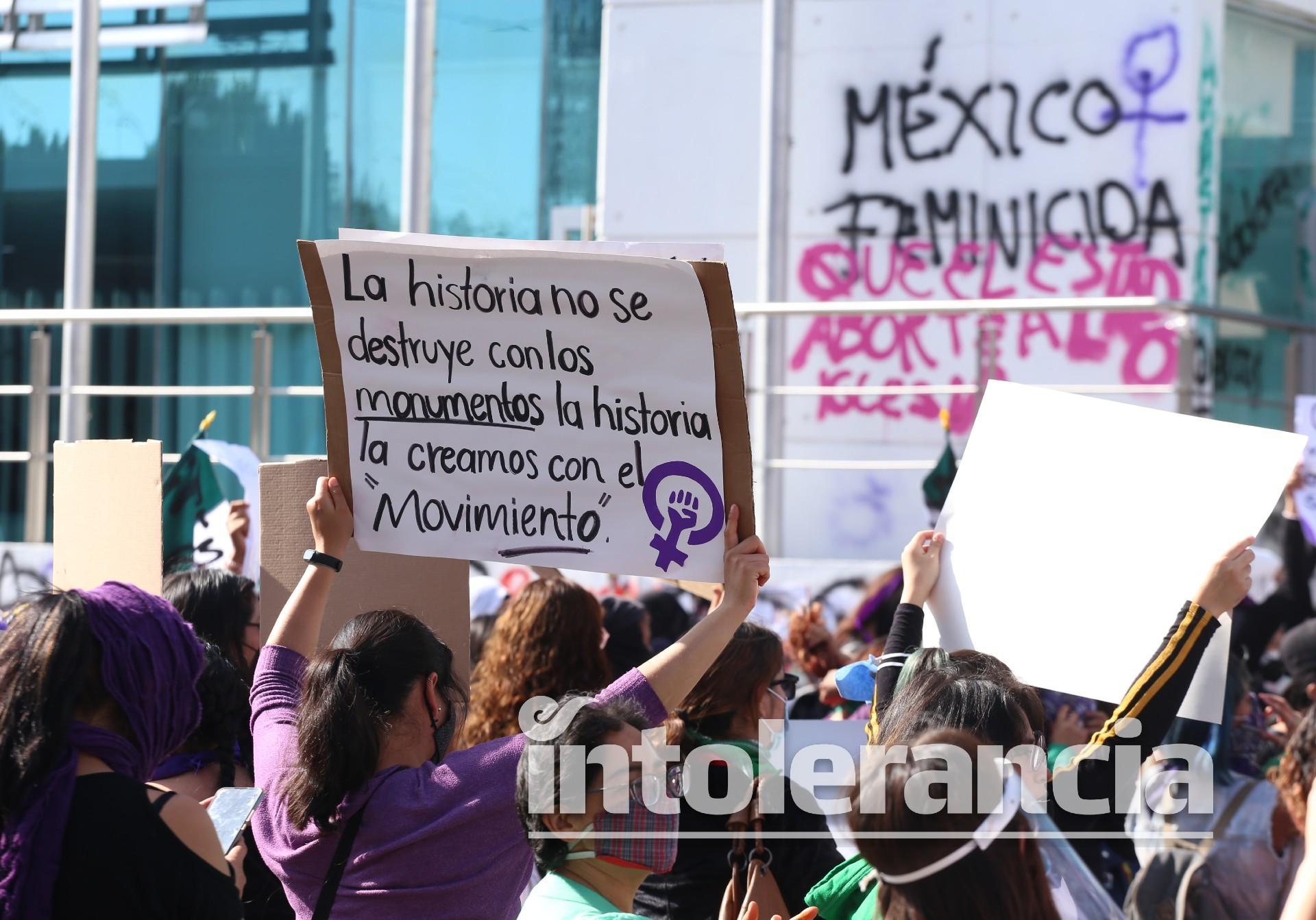"""Mujeres de Puebla muestran """"músculo"""" contra realidad feminicida"""