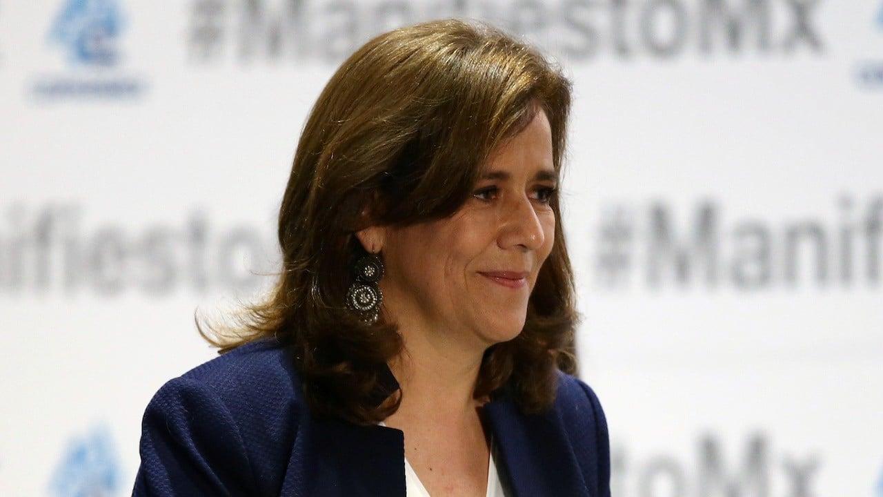 Regresa Margarita Zavala a la sede nacional del PAN para reunión plenaria