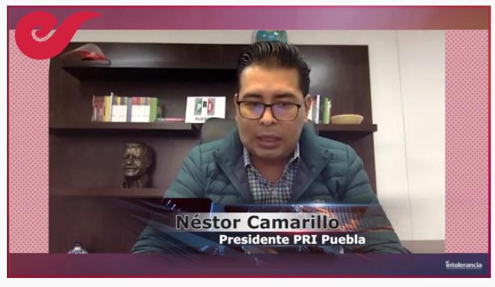 En 2021, el PRI peleará Puebla Capital: Néstor Camarillo