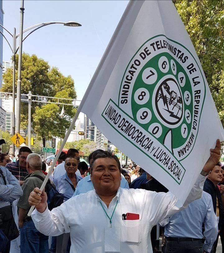 Telefonistas realizan paro nacional por modificación de pensión en Telmex