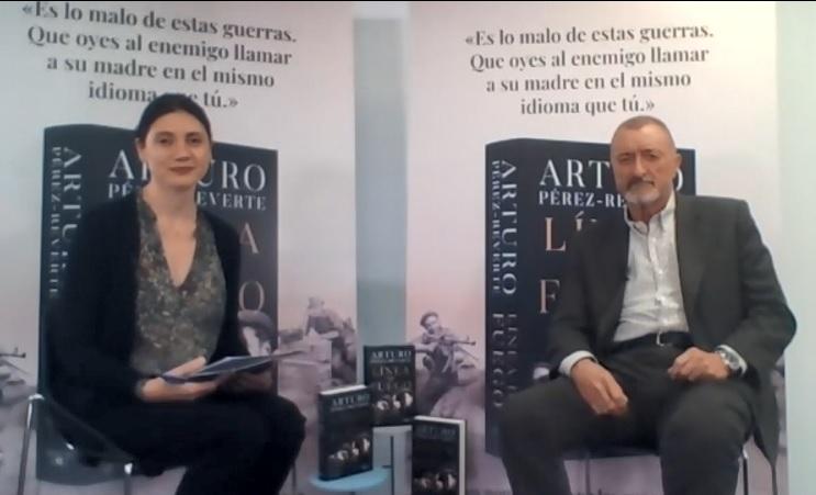 No reescribiré la historia de la conquista: Pérez-Reverte