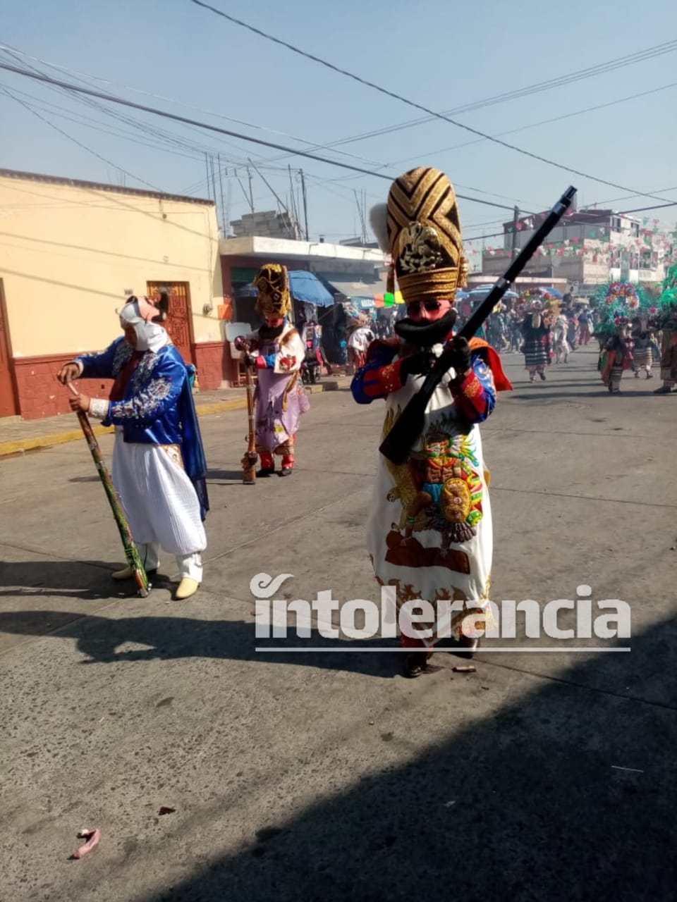 Arranca Carnaval de Huejotzingo; participan 80 mil danzantes