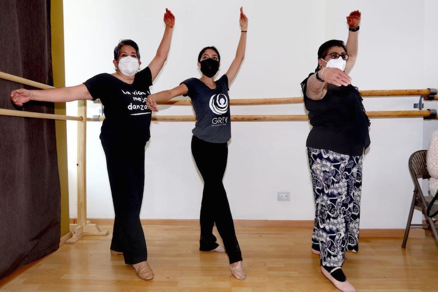 Con ballet y fitness, Grey Academia apuesta por la salud de adultos mayores